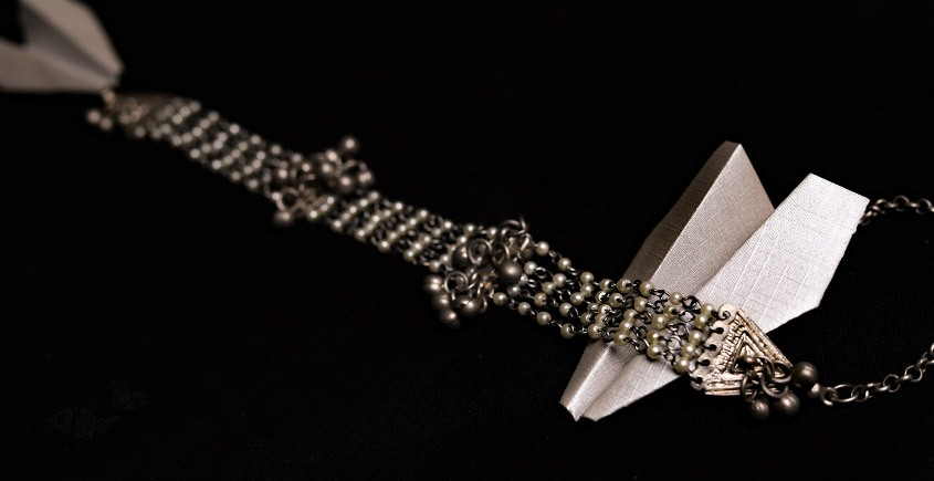 रेवती ✽ Ghunghru Choker with Pearl Strings ✽ Necklace ✽ 8