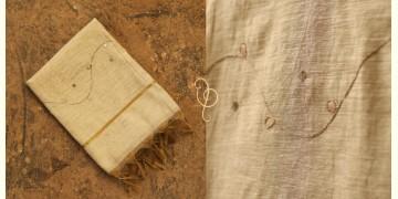 सूरजमुखी ✺ Handwoven Silk Dupatta { 53 }