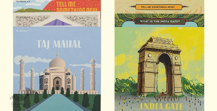 Saffron Stories ♦ I ♦ Indsight Cards { Monuments Series }