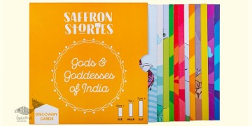 Saffron Stories ♦ G ♦ Discovery Cards { Gods & Goddess Flash Cards  }