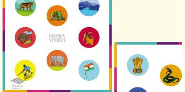 Saffron Stories ♦ F ♦ Games { Match n Seek National Symbols of India }