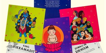 Saffron Stories ♦ D ♦ Discovery Cards { Diwali Cards }