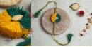 shop handmade plantable seed rakhi