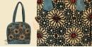 तहज़ीब ❃ Ajrakh on Vegan Leather Shoulder Bag ❃ 5