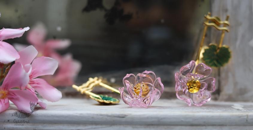 कुसुमांप्रभा ✤ Glass Jewelry ✤ Earring ✤ 18