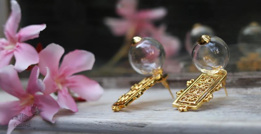 कुसुमांप्रभा ✤ Glass Jewelry ✤ Earring ✤ 19