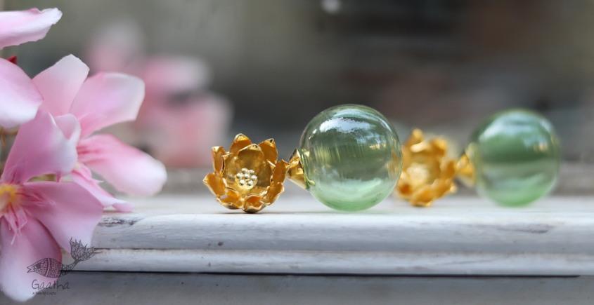 कुसुमांप्रभा ✤ Glass Jewelry ✤ Earring ✤ 25