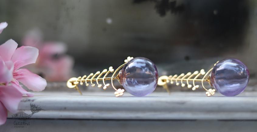 कुसुमांप्रभा ✤ Glass Jewelry ✤ Earring ✤ 26