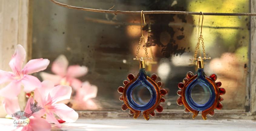 कुसुमांप्रभा ✤ Glass Jewelry ✤ Earring ✤ 3