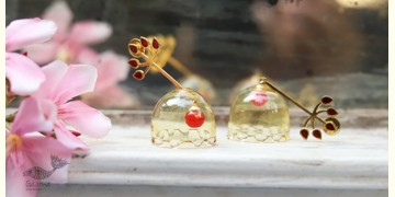 कुसुमांप्रभा ✤ Glass Jewelry ✤ Earring ✤ 14