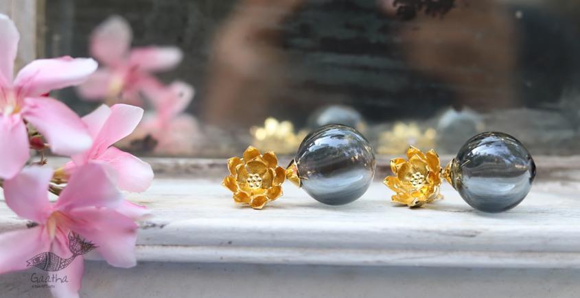 कुसुमांप्रभा ✤ Glass Jewelry ✤ Earring ✤ 17