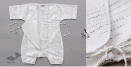 Infant Organic Cotton Garment ★ Humming Dots Romper ★ 2