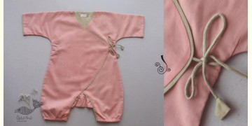 Infant Organic Cotton Garment ★ Dusky Rose Romper ★ 5