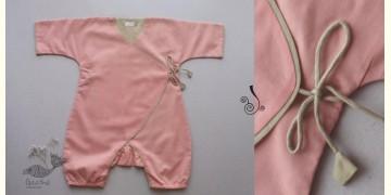 Infant Organic Cotton Garment ★ Dusky Rose Romper ★ 5