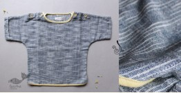 Infant Organic Cotton Garment ★ Indigo Harmony Tshirt ★ 20