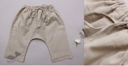 Infant Organic Cotton Garment ★ Cloud Grey Handwoven Pants ★ 23
