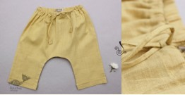 Infant Organic Cotton Garment ★ Yellow Sunshine Handwoven Pant ★ 24