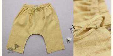 Infant Organic Cotton Garment ★ Yellow Sunshine Handwoven Pant ★ 24