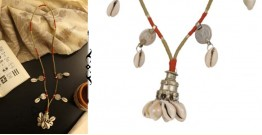 Abira ✮ Boho Repurposed Metal And Cowrie Necklace ✮ 13