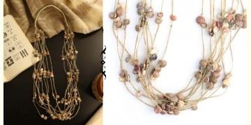 Abira ✮ Layered Jute And Sea Shell Necklace ✮ 12