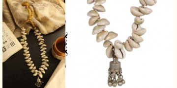 Abira ✮ Tribevibe Cowrie And Repurposed Metal Necklace ✮ 11