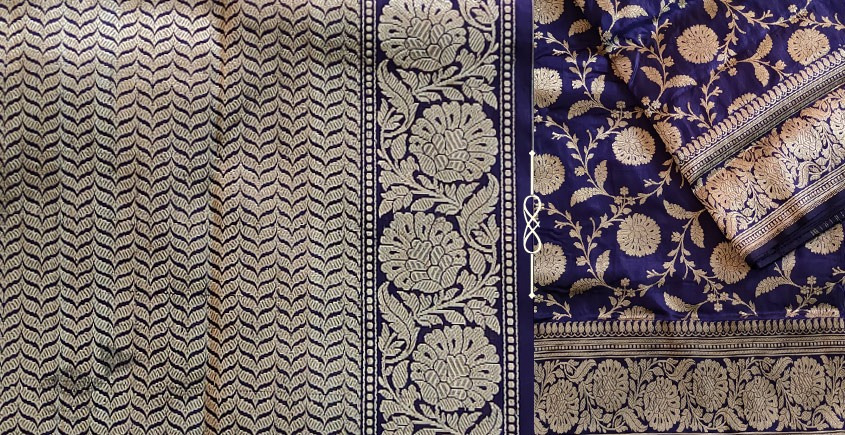 Jaanki . जानकी ✽ Handwoven Banarasi Silk Saree ✽ 1