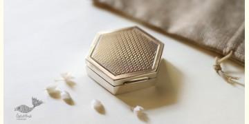 रजत ❧   Silver Six part Box - Small   1