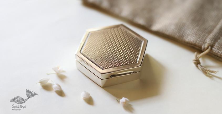 रजत ❧ | Silver Six part Box - Small | 1