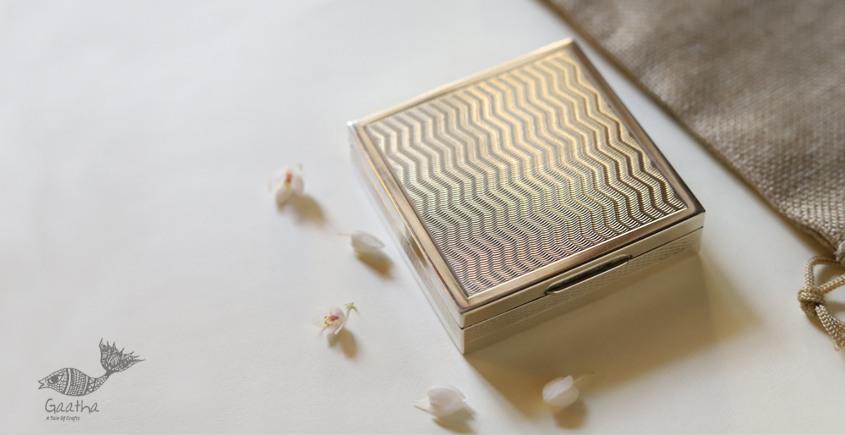 रजत ❧| Silver Square box | 4