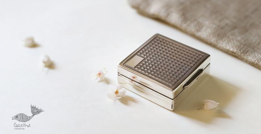 रजत ❧ | Silver Square Box  | 8