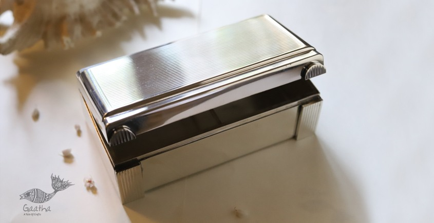 रजत ❧ | Silver Twin line box - big | 13