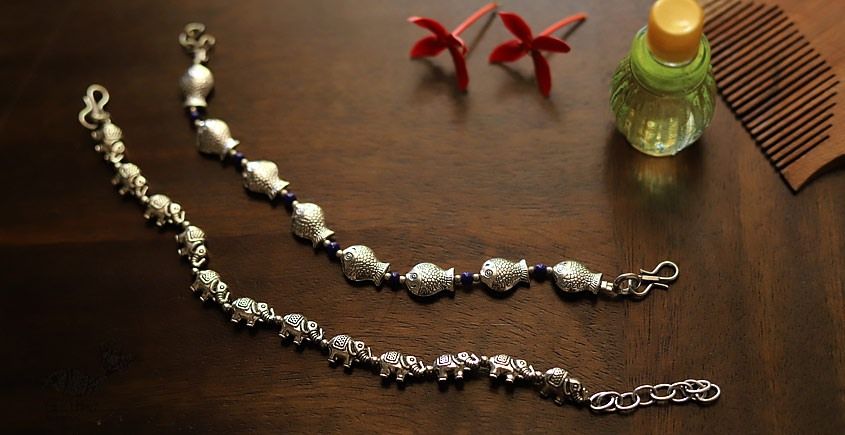 इशाना ✽ White Metal ✽ Bracelet 29