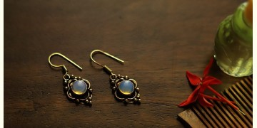 इशाना ✽ White Metal ✽ Earring 12