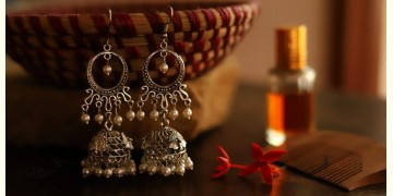 इशाना ✽ White Metal ✽ Earring 8