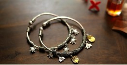 इशाना ✽ White Metal ✽ Bracelet ( Single Piece ) 27