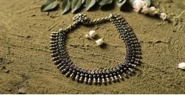 धरा ✽ Antique Finish White Metal ✽ Necklace { 31 }