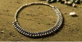 धरा ✽ Antique Finish White Metal ✽ Necklace { 40 }