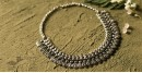 धरा ✽ Antique Finish White Metal ✽ Necklace { 50 }