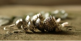 धरा ✽ Antique German Silver ✽ Earring { 1 }