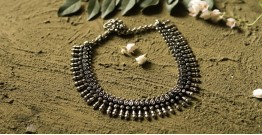 धरा ✽ Antique Finish White Metal ✽ Necklace { 31 }