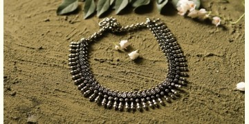 धरा ✽ Antique German Silver ✽ Necklace { 31 }
