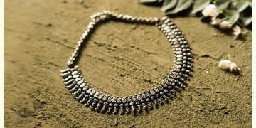 धरा ✽ Antique German Silver ✽ Necklace { 33 }