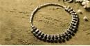 धरा ✽ Antique Finish White Metal ✽ Necklace { 46 }