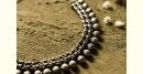 धरा ✽ Antique Finish White Metal ✽ Necklace { 47 }
