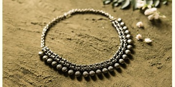 धरा ✽ Antique German Silver ✽ Necklace { 47 }