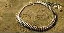 धरा ✽ Antique Finish White Metal ✽ Necklace { 48 }