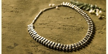 धरा ✽ Antique German Silver ✽ Necklace { 48 }