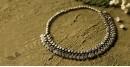 धरा ✽ Antique Finish White Metal ✽ Necklace { 49 }