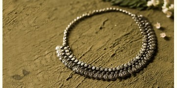 धरा ✽ Antique German Silver ✽ Necklace { 49 }