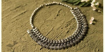 धरा ✽ Antique German Silver ✽ Necklace { 50 }